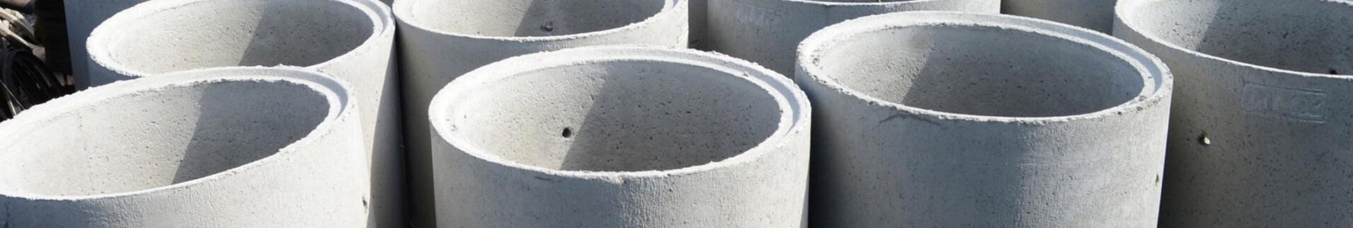 Железобетонные кольца, крышки и днища