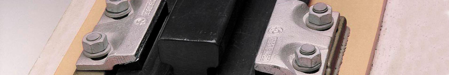 Рельсовый крепеж крановый